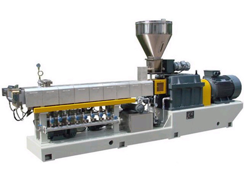 PVC-PP-PE-ABS-Twin-Screw-Barrel-Extruder-Machine